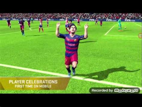 game fifa 2015 mod apk data fifa 16 mod apk mod data youtube