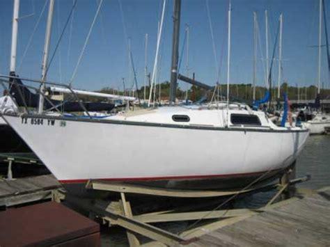 sailboat rubber st san juan 24 1976 lake lewisville denton