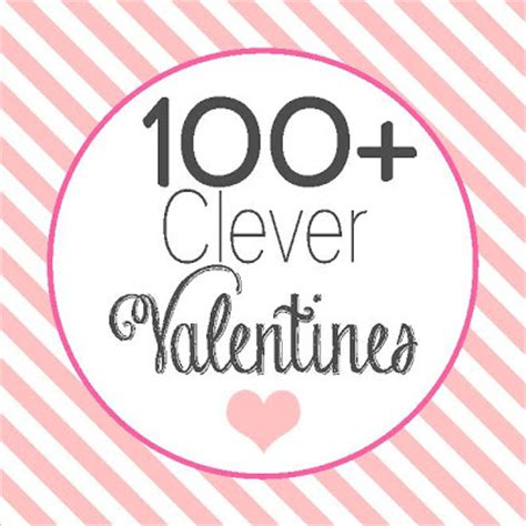 and blue paperie 100 clever valentines