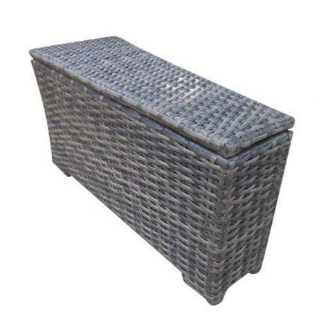 outdoor storage end table concord storage outdoor patio furniture wedge end table