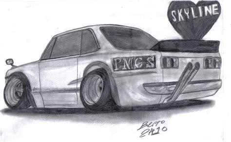 nissan skyline drawing 70 nissan skyline ht2000gt r by mister lou on deviantart