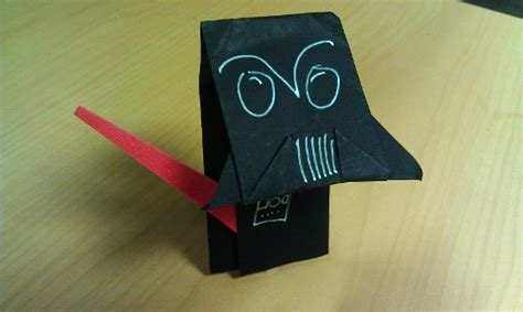 Origami Yoda Darth Paper - catch up on origami yoda s adventures in darth paper