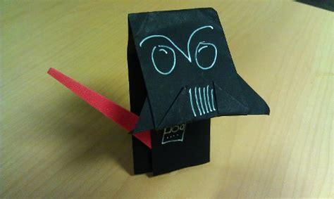 Darth Paper Origami - catch up on origami yoda s adventures in darth paper