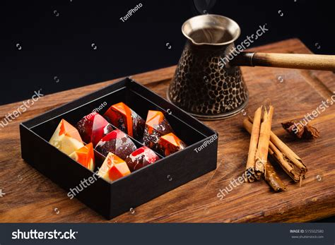 Luxury Handmade Chocolates - assortment luxury handmade chocolate candies gift stock