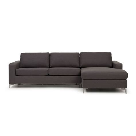chaise lounge bed elliot sofa bed chaise graphite target furniture