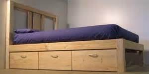 Diy Platform Bed Home Depot How To Build A Platform Bed With Storage The Home Depot