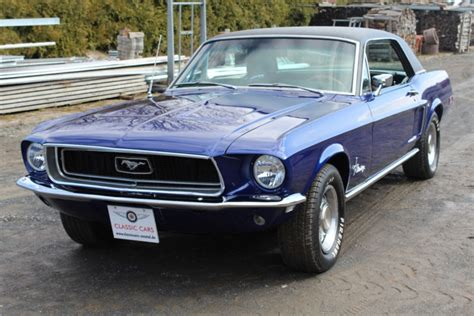 Mustang Auto Herkunft by 1968 Ford Mustang Is Listed Verkauft On Classicdigest In