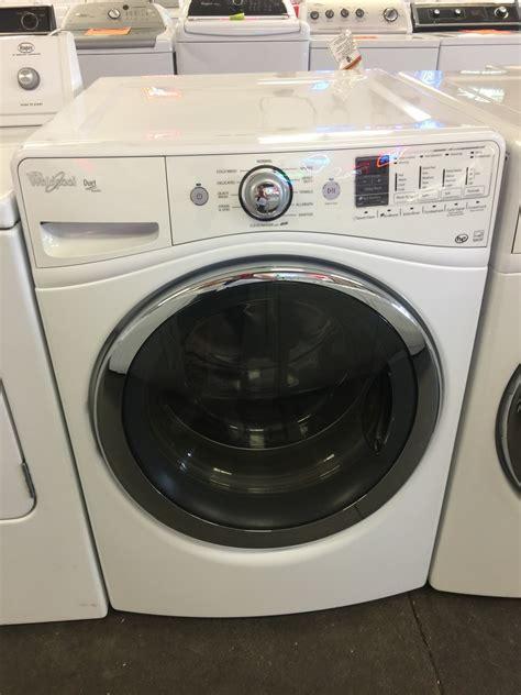 whirlpool whirlpool duet front load steam washing machine