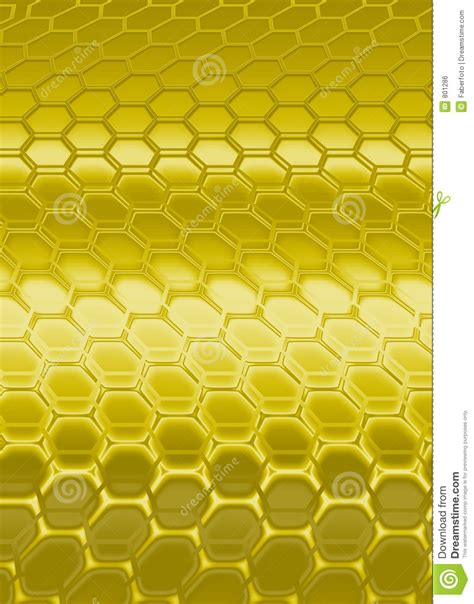 gold hexagon pattern hexagon royalty free stock image image 801286