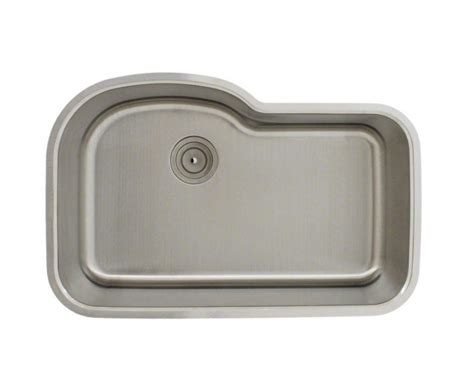 undermount offset single bowl sink 346 offset single bowl stainless steel sink