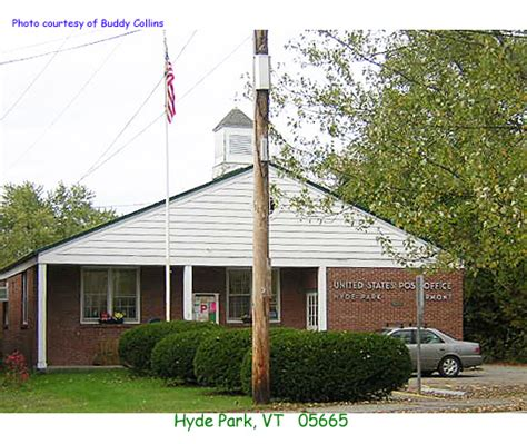 Hyde Park Post Office by Vermont Post Offices