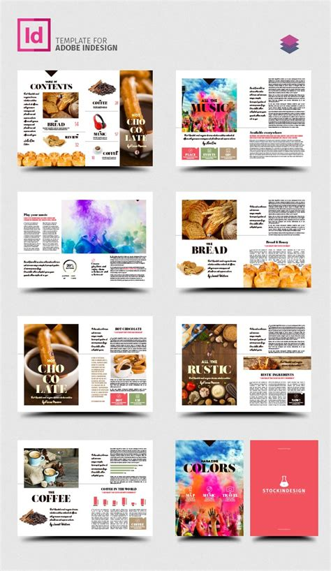 magazine template software colors magazine template stockindesign