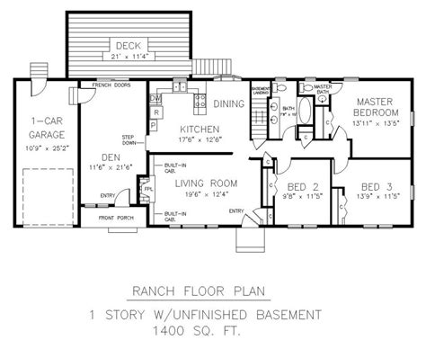 Free Houseplans Drawing Plans Of Houses Modern House