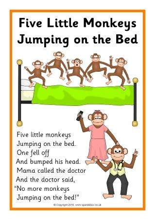 five little monkeys jumping 0547896913 five little monkeys jumping on the bed song singing songs with preschool age children helps