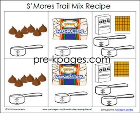 printable preschool recipes preschool cing theme kid cooking and classroom on