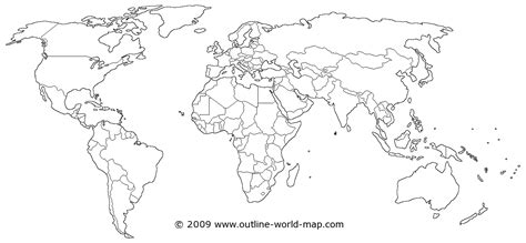 map world black outline white transparent political world map b5a outline