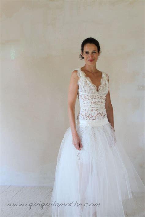 Robe Tulle Mariage - robe de mari 233 e transformable simple jupe en tulle 224