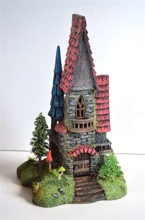 elf house fairy castle house decoration wymsical houses elf house wooden mansion fairy house