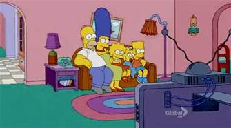 simpsons living room couch gag simpsons wiki wikia