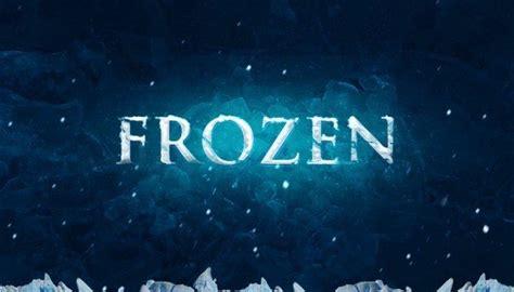 Tutorial Logo Frozen | 21 modern photoshop text effects tutorials