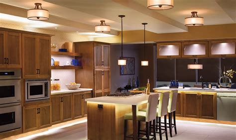 Designer Kitchen Lighting | inspire design elegant kitchen with led lighting inspire