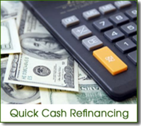 out refinance mortgage loans
