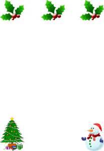 free christmas borders