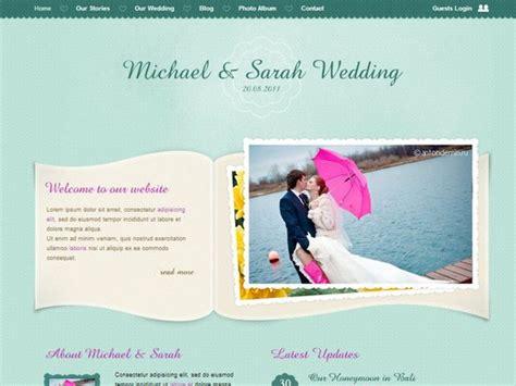 templates for wedding website 20 best wedding website templates css html wordpress