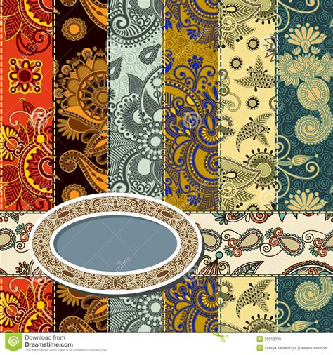 scrap background patchwork technique royalty free stock