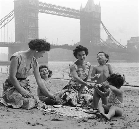 thames river great britain 1950s tower beach east london 1950s in the past london