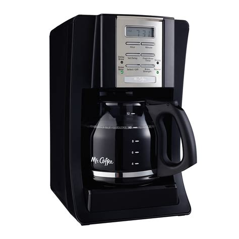 Mr. Coffee® Advanced Brew 12 Cup Programmable Coffee Maker Black/Chrome, BVMC SJX23 RB
