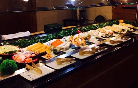japanese grill on table crab legs butter etc picture of miyagi sushi buffet and