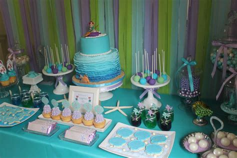 New Year Party Decoration Ideas At Home by The Little Mermaid Birthday Party Ideas Photo 1 Of 30