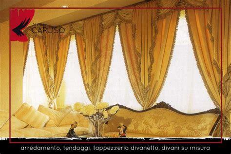 tendaggi e mantovane tendaggi classici con mantovana atelier tessuti