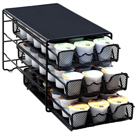 Keurig Coffee Rack by Decobros 3 Tier Drawer Storage Holder 54 Keurig Coffee Pod