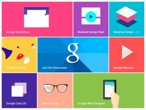 google design guidelines introducing google s new design language material design