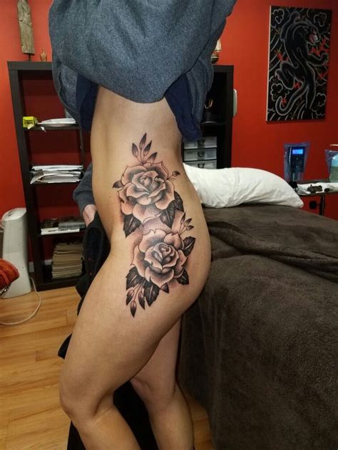 pelvis tattoo side hip tattoos side hip