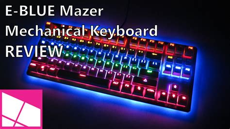 Keyboard Gaming E Blue Mazer K727 Mechanical Backlit e blue mazer mechanical gaming keyboard review