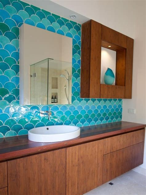 aqua blue bathroom turquoise blue bathroom backsplash decozilla