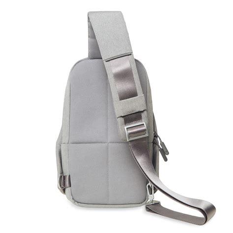 gratis ongkir original xiaomi multifunctional crossbody bag shoulder backpack leisure pack