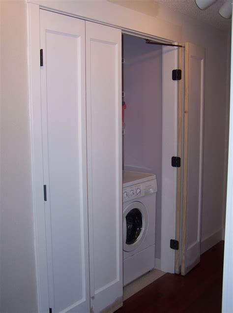 Doors For Laundry Closet Laundry Closet Doors Building The Space Between Laundry Closet Move In To Present Organized