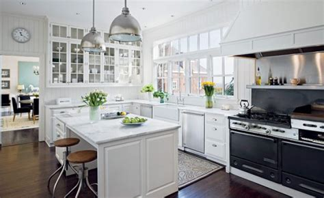 White Kitchen by Handsome White Green Kitchen Furnishing Ideas Iroonie