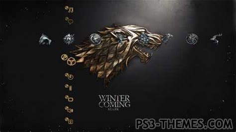 themes games of thrones ps3 themes 187 game of thrones houses
