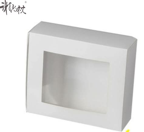 white vinyl window boxes sale high quality cheap white fashion cardboard gift