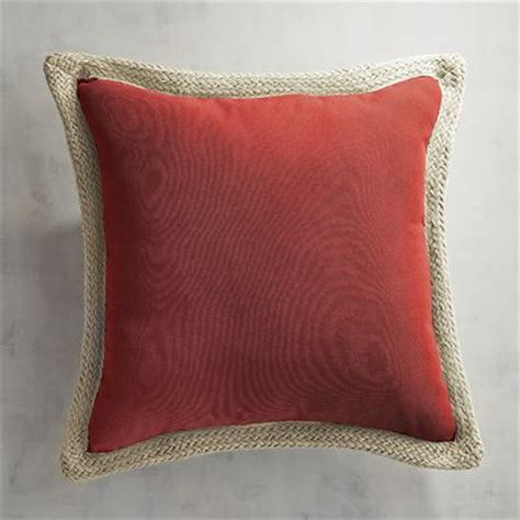 Pier One Imports Pillows by Calliope Jute Trim Pillow Spice Pier 1 Imports
