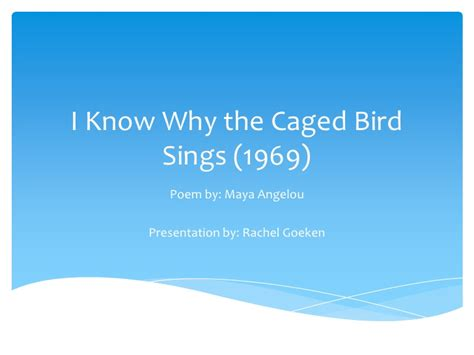 I Why The Caged Bird Sings Worksheet by I Why The Caged Bird Sings