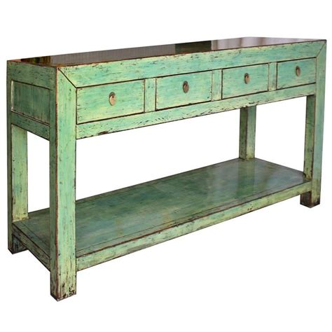 green console table for sale at 1stdibs
