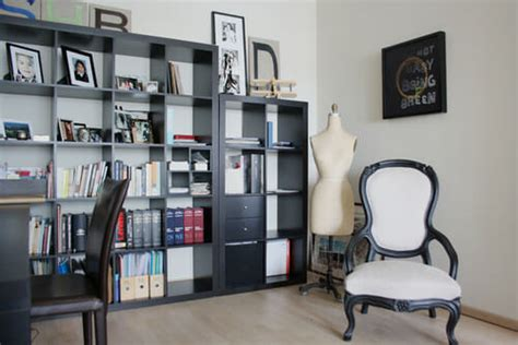 Black Floral Curtains 7 Rooms That Use Ikea S Expedit Kallax Shelving Modernize