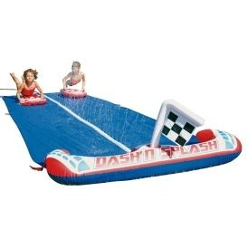 flags of the world game argos chad valley dash and splash inflatable water slide 163 13 99