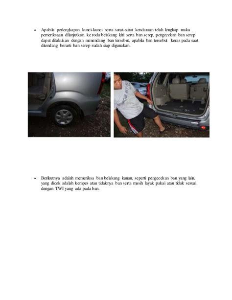 Sistem Kelistrikan Kendaraan Ringan inspeksi ringan kendaraan sebelum berkendara